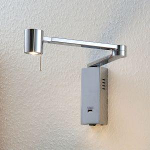 Applique LED Merete avec port chargeur USB