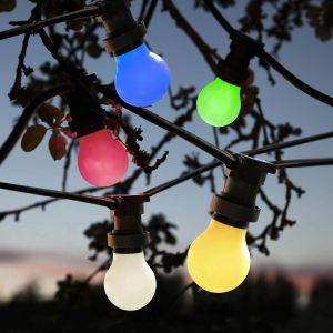 Ampoule LED E27 pour guirlande, anti-casse, jaune