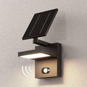 Applique d'extérieur LED solaire Silvan, détecteur