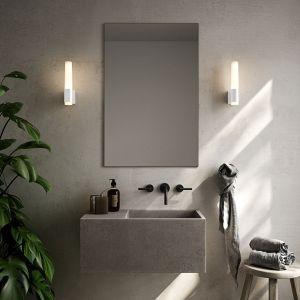 Applique de salle de bain LED Helva Night, blanche