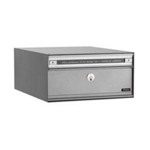 Boîte aux lettres grise PC1