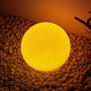 Lindby Yohan lampe solaire LED RVB, 25 cm