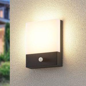Lindby Vanira applique LED extérieure avec capteur