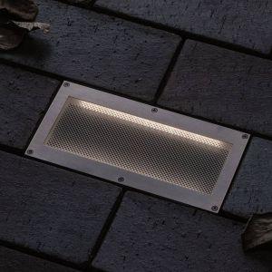 Paulmann Brick lampe encastrable sol LED, 10x20cm