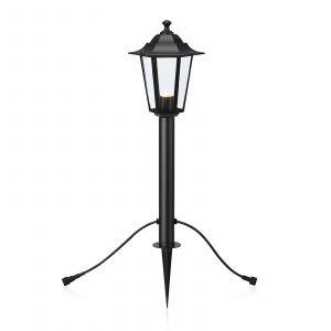Garden 24 borne LED lanterne, noire, 3W