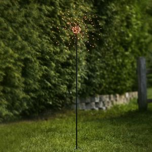 Lampe déco LED Firework Outdoor, blanc chaud