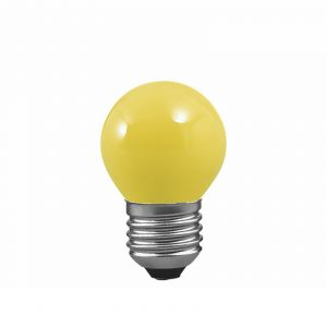 E27 25W Ampoule goutte pour guirlande, jaune