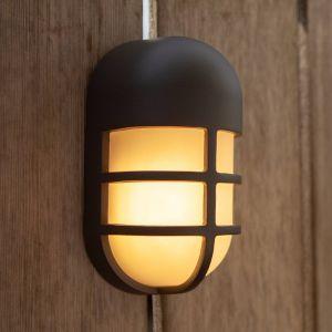Applique d'extérieur LED Bullo, anthracite