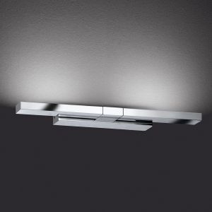 Applique Clareo LED flexible chromé