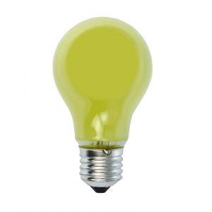 Ampoule à incandescence E27 25W jaune pr guirlande