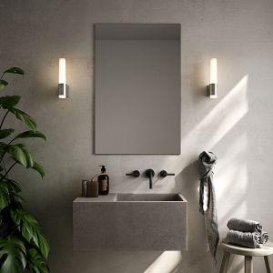 Applique de salle de bain LED Helva Night, chromée