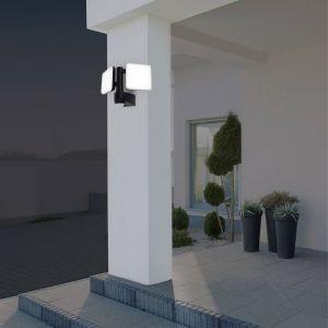 Applique d'extérieur LED Jaro, capteur, à 2 lampes