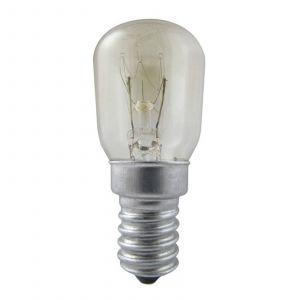 Ampoule transparente E14 15W pr réfrigérateur