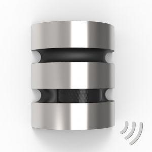 Applique d'extérieur LED Maya acier inox capteur