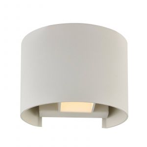 Applique LED Zuzana blanche ronde