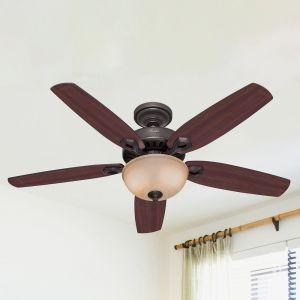 Hunter Builder Deluxe ventilateur plafond, bronze