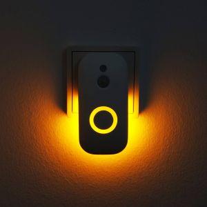 Veilleuse LED Dora prise électrique, détecteur
