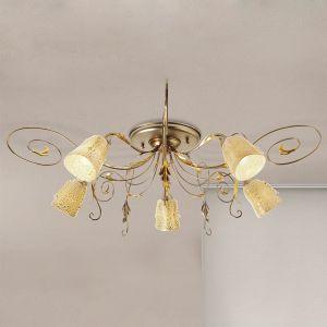 Plafonnier Ilaria à 5 lampes