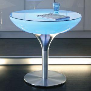 Table LED LOUNGE sur batterie 75 cm