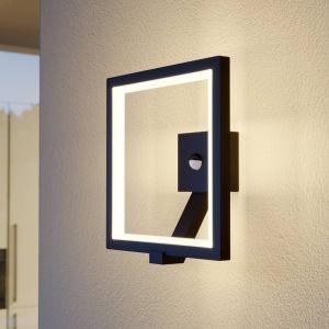 Applique d'extérieur LED Square graphite, capteur