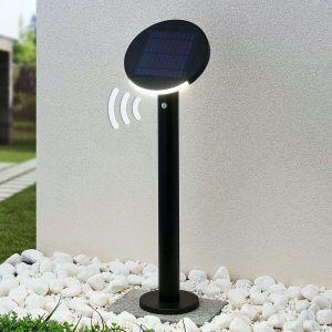 Lindby Cletus borne solaire LED avec capteur