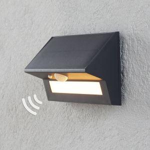 Applique d'extérieur LED Kristiana solaire capteur