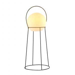 Lucande Hoyka lampadaire d'extérieur