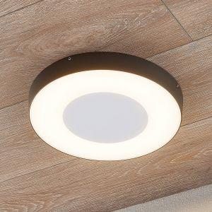 Plafonnier d'extérieur LED Sora, rond, capteur