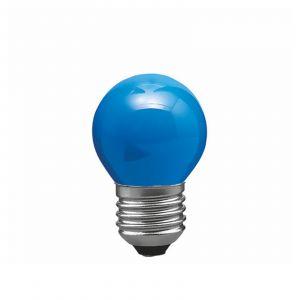 E27 25W Ampoule goutte pour guirlande, bleue