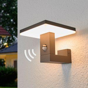 Applique d'extérieur LED Olesia, détecteur