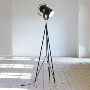 LE KLINT Carronade High - lampadaire noir