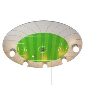 Plafonnier Stade de Foot avec points lumineux LED