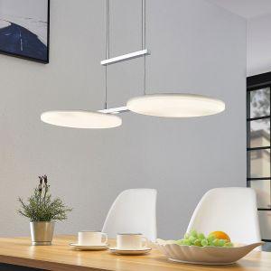 Suspension LED Sherko, hauteur réglable, 2 lampes