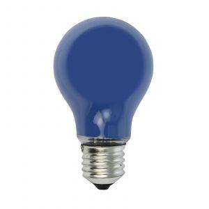 Ampoule à incandescence E27 25W bleue pr guirlande