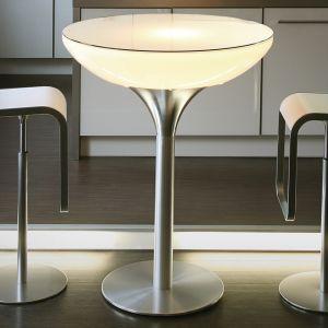 Table LED LOUNGE sur batterie 105 cm