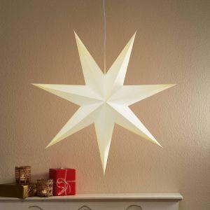 Belle étoile en papier Duva, 75 cm