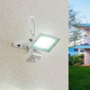 Lindby Aine spot LED blanc 12,3cm capteur