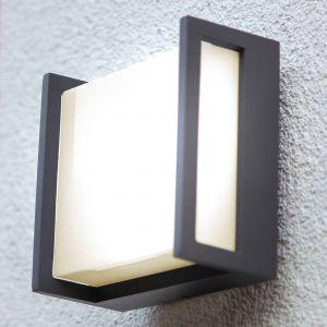 Applique d'extérieur LED Qubo, 14cm x 14cm