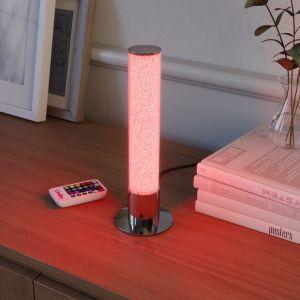 Lampe à poser LED Fria cylindre RVB télécommande