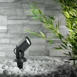 Spot à piquet Minitommy-EL 1 lampe CCT noir/givré