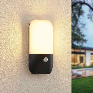Lucande Bazilea applique d'extérieur à capteur LED