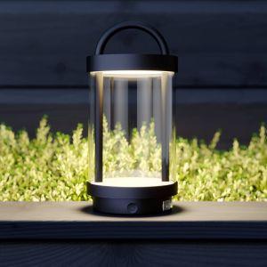Lucande Caius lampe décorative LED pour extérieur