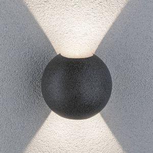Paulmann Concrea applique d'extérieur LED, ronde