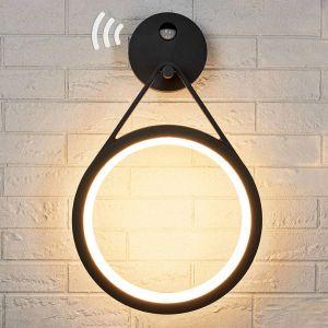 Applique LED Mirco avec capteur, forme d'anneau