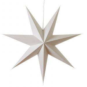 Etoile en papier Duva à sept branches, 100 cm