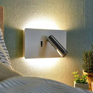 Applique LED Elske avec liseuse