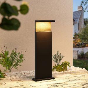 Lucande Lignus potelet LED