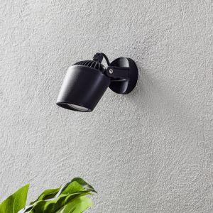 Spot Minitomy-EL à 1 lampe CCT noir/givré
