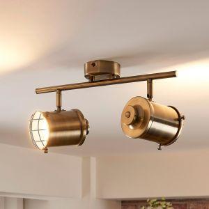 Spot LED à 2 lampes Ebbi avec fonction Easydim