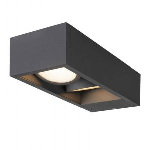 SLV Eskina Frame applique extérieur LED 2 l. CCT